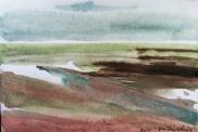 Baie de Somme 8 - Suzy Chic 2012, gouache.